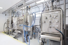 Mixing tanks, pharma production in cleanrooms